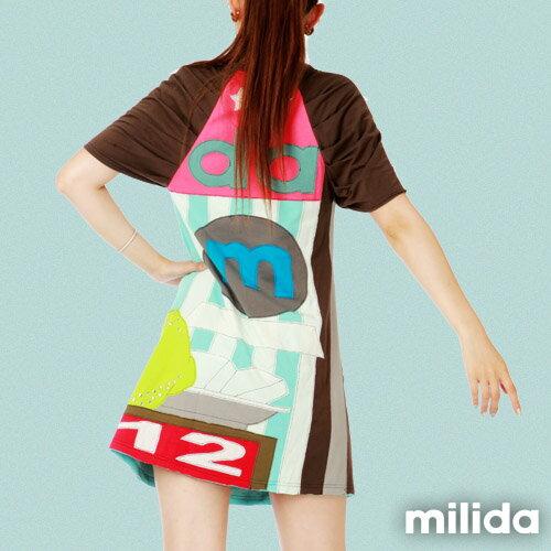 【Milida,全店七折免運】公主袖派對洋裝 3