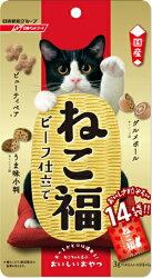日清 福來小餅 牛肉風味 貓餅乾 貓福餅 零食 貓餡餅 42g/包 日本國產