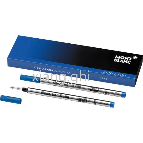 萬寶龍MONTBLANC鋼珠筆芯-105163-(F)藍色-細-*2支~另有(M)藍色-(F)黑色-(M)黑色~特價~保證正原廠真品!!