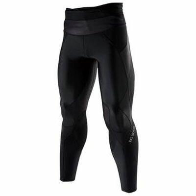 適合運動時穿著,具支撐性及活動自如的 BG5000 男緊身褲A60BP-30090(黑*黑)【美津濃MIZUNO】