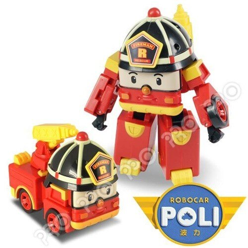 《POLI 波力》變形車系列-LED閃燈 5吋變形羅伊