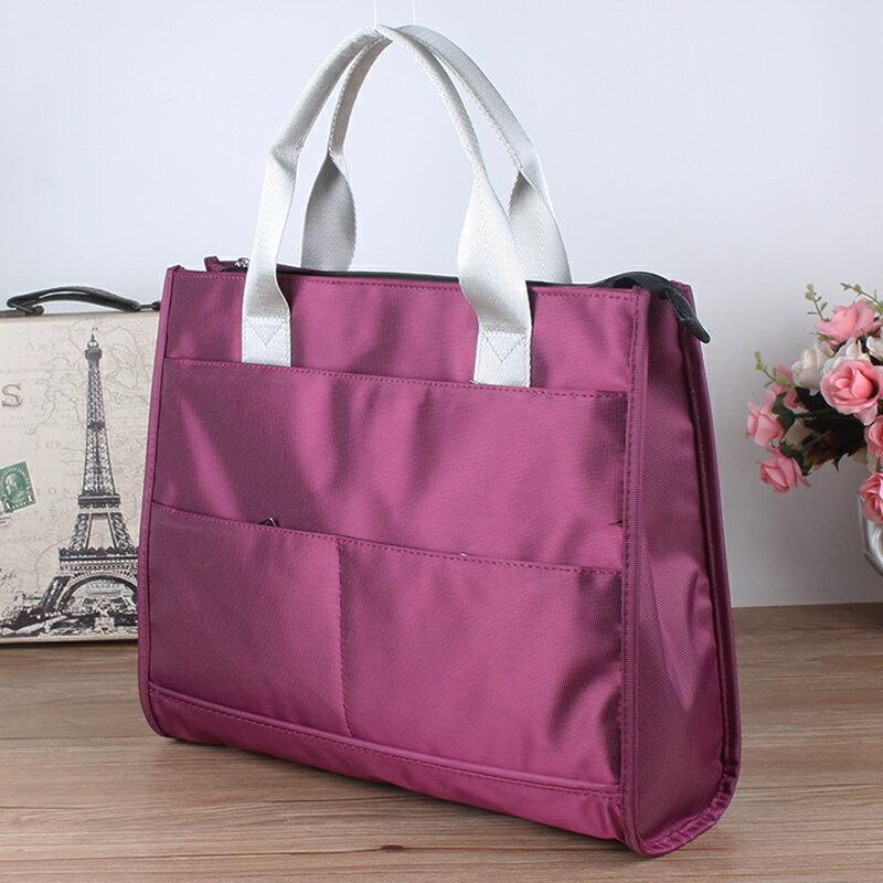 公文包 公事包 手提文件袋A4公文袋公文包男女士商務辦公文件包會議包潮『CM43249』