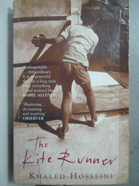 【書寶二手書T9/原文小說_JCO】Kite Runner 追風箏的孩子_Hosseini, Khaled