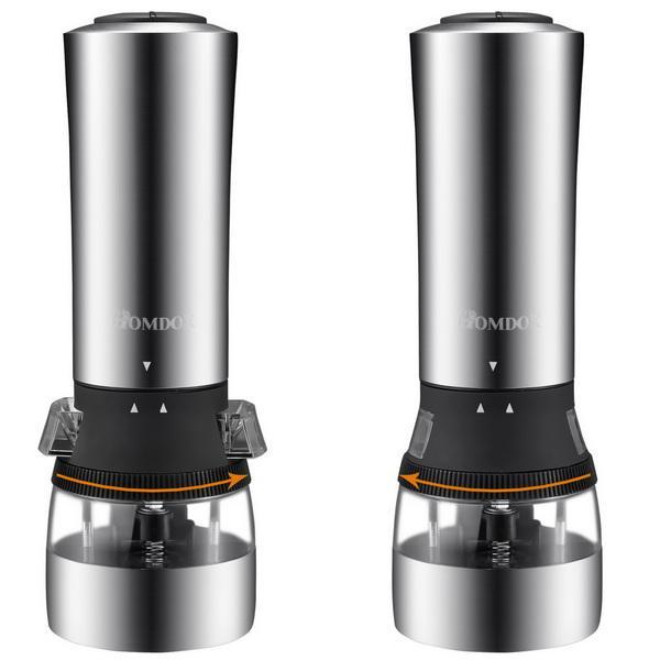 Stainless Steel 2 in 1 Dual Head Electric Grinder with Adjustable Grind 2