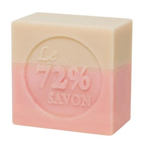 《雪文洋行》巴黎玫瑰人生(白玫瑰)72%馬賽皂-110g±10g