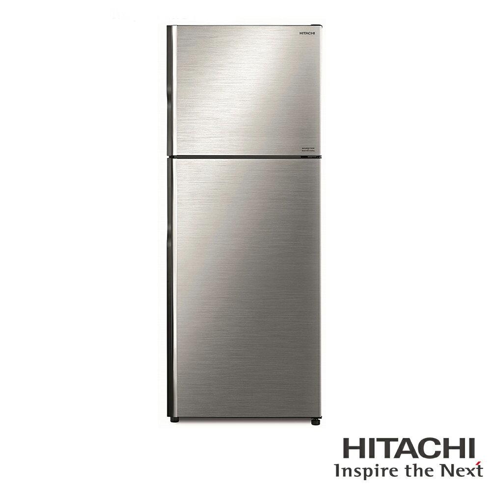 星光促銷價★限北北基安裝配送 日立 HITACHI 一級能效 443L 雙門變頻冰箱-星燦銀 RV449BSL