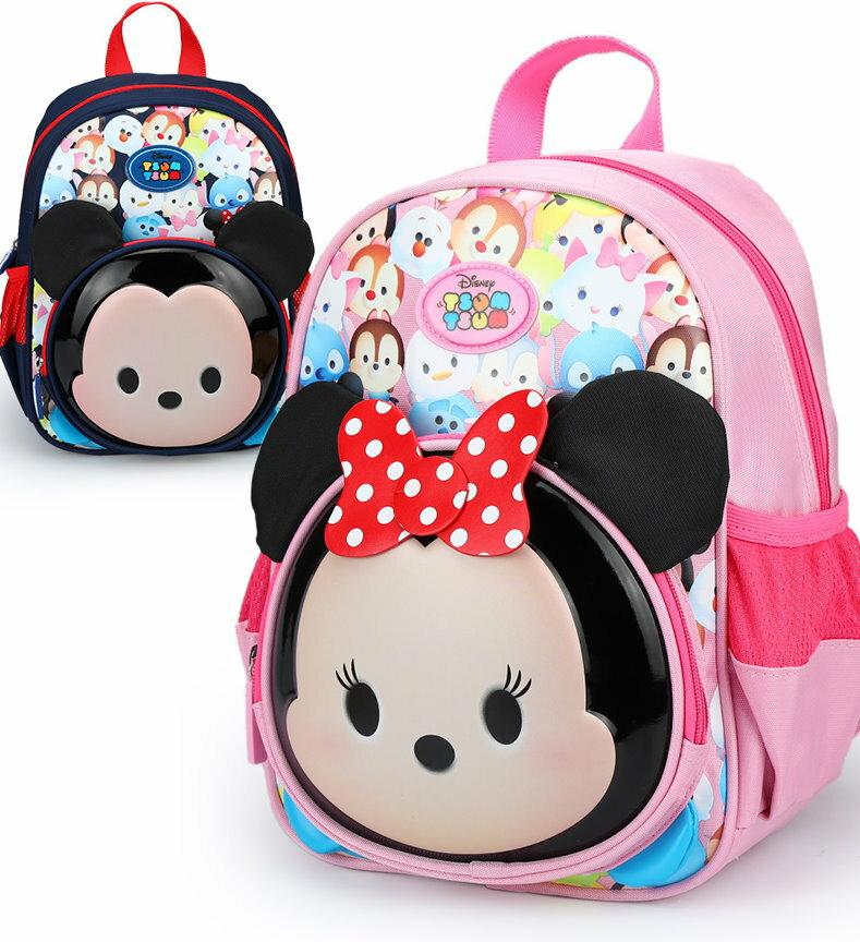 正版Disney 迪士尼TSUM TSUM 幼兒園書包中小班男童女童卡通寶寶書包兒童雙肩背包