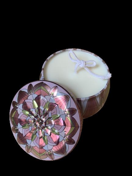 異國風幾何香氛容器蠟燭 /生日禮物 / 女友生日禮物 / 送禮自用