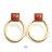 日本CREAM DOT  /  ピアス 金属アレルギー チタンポスト ヴィンテージ調 カボション ストーンモチーフ ドロップ 揺れる ダメージ加工 レトロ 上品 お呼ばれ アクセサリー デイリー カジュアル 大人 女性 プレゼント ギフト  /  qc0413  /  日本必買 日本樂天直送(1490) 4