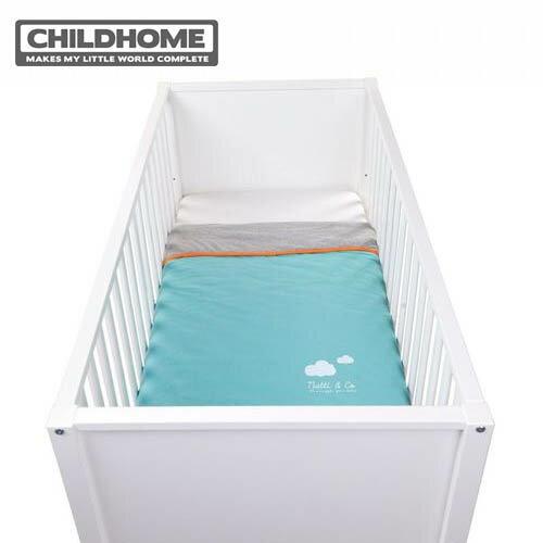 【安琪兒】比利時【Childhome】柔軟舒眠毯-湖水藍 - 限時優惠好康折扣