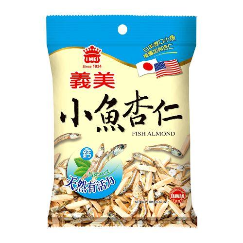 義美小魚杏仁104g【愛買】