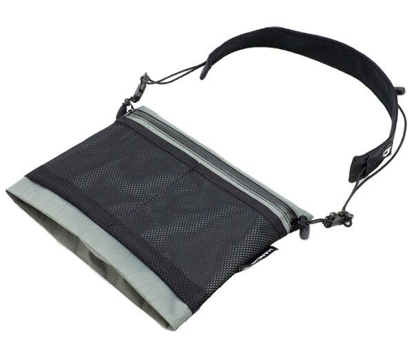 【HANCHOR台灣】SURFACE輕量化胸前斜背包-灰色/隨身側背包旅行隨身袋/OD17