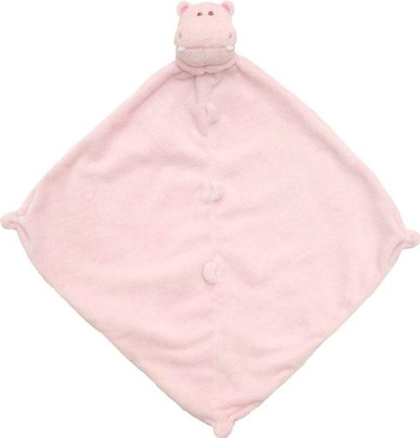 美國Angel Dear 動物嬰兒安撫巾 粉紅河馬 - 限時優惠好康折扣