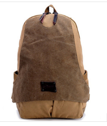 2015新款電腦包 繼承者們同款包 帆布雙肩後背包 運動旅行包 大容量包