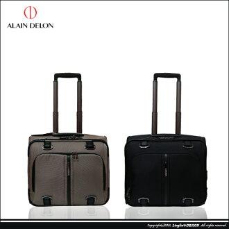 【ALAIN DELON】時尚商務電腦拉桿箱/登機箱/橫箱AD1201