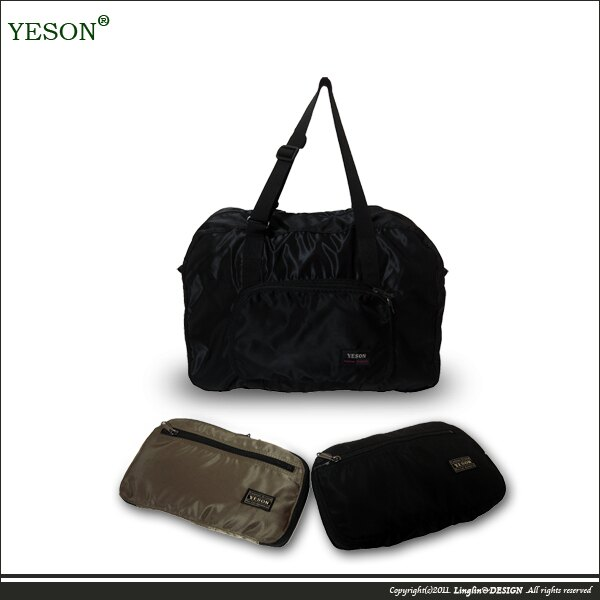 【YESON】輕量折疊收納旅行袋663