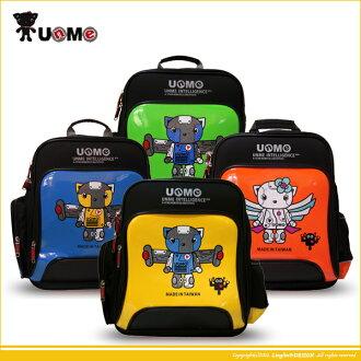 UnMe 機器貓款多功能鏡面造型書包/小學生背包3077A
