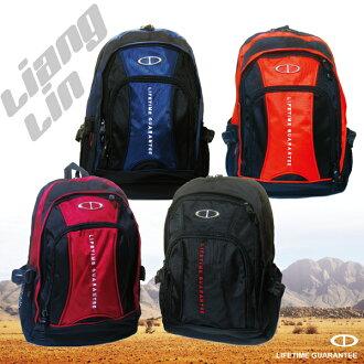 【TaTi】15~17吋大容量雙層電腦背包/運動後背包8785