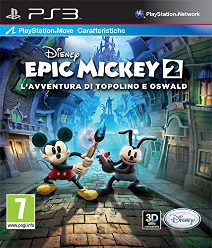 PS3 傳奇米奇2:二人之力 米老鼠 奧斯華  支援MOVE與3D  ~英文版~ Disn