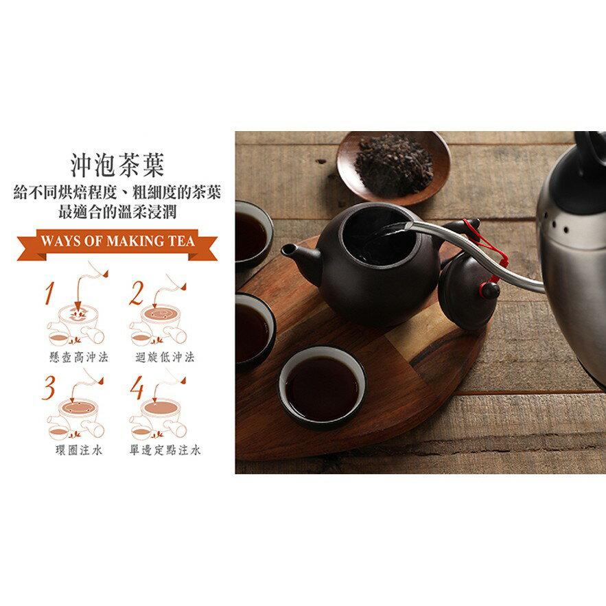 【鍋寶】316不鏽鋼手沖細口快煮壺1.0L KT-9010 5