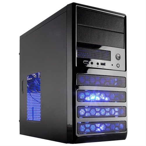 Rosewill Dual Fans MicroATX Mini Tower Computer Envelope with USB 2.0 Cases RANGER-M Black