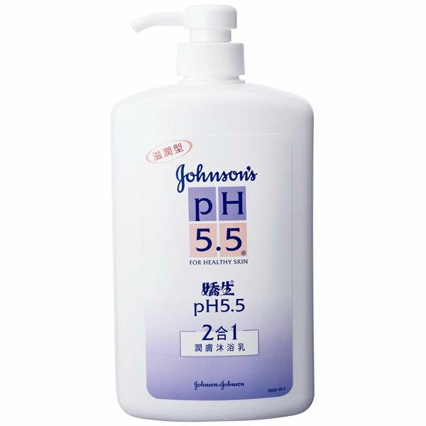 嬌生PH5.5二合一潤膚沐浴乳1000ml
