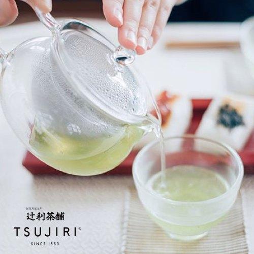 【辻利茶舗 x HARIO】辻光茶道具禮盒 (晝旋) 茶茶急須丸形茶壺30ml+耐熱湯吞小茶杯2入+小倉煎茶茶葉100g 1入。 5