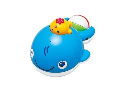 日本【ToyRoyal 樂雅】  洗澡玩具 -鯨魚 0