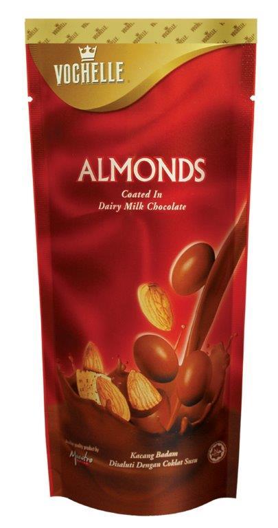 ★特惠89折★【VOCHELLE】皇冠杏仁牛奶巧克力 ? 馬來西亞進口頂級巧克力球