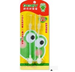 台灣【Dooby 大眼蛙】神奇自動水杯200cc專用吸管 (DB-4122)