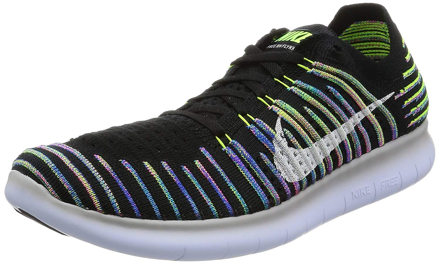 6e6627192c229 PairMySole  Nike Mens Free RN Flyknit 2017 Low Top Lace