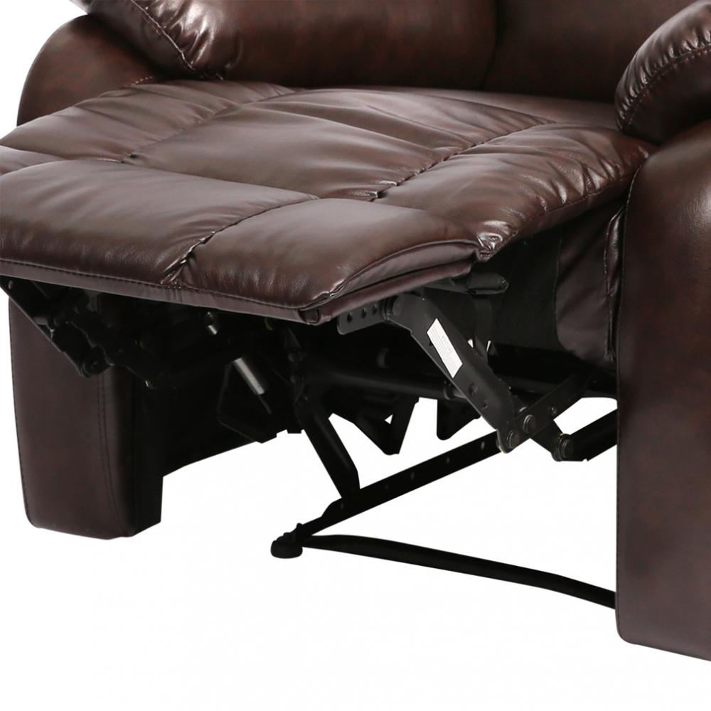 recliner chair Classic Leather Living Room reclining Furniture 2