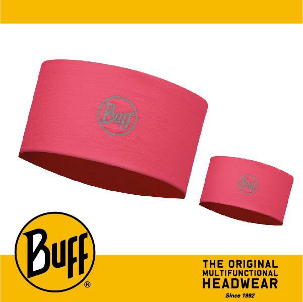 BUFF 西班牙魔術頭巾 頭帶 帽子&頭帶 COOLMAX涼感抗UV系列 [覆盆莓紅] BF113641-542-10-00