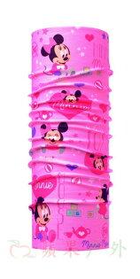 【【蘋果戶外】】BF115448西班牙BUFF魔術頭巾寶寶米妮迪士尼授權MINNIE兒童小頭圍女孩女生