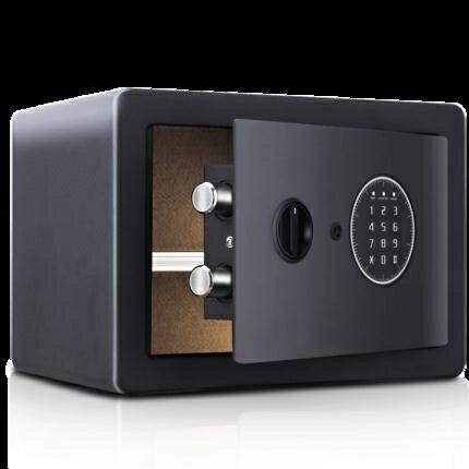 保險櫃 能家用小型入牆 迷你指紋密碼保險箱 床頭櫃25高全鋼保管箱 【新年鉅惠】
