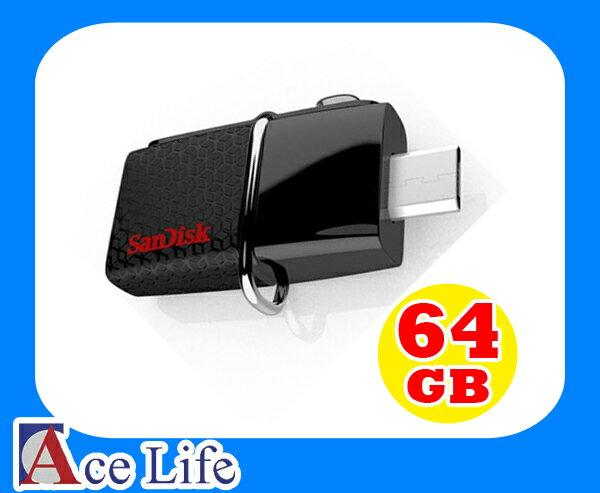 【九瑜科技】Sandisk 64G 64GB OTG 隨身碟 USB 3.0 Android 平板 手機 HTC Sony Samsung