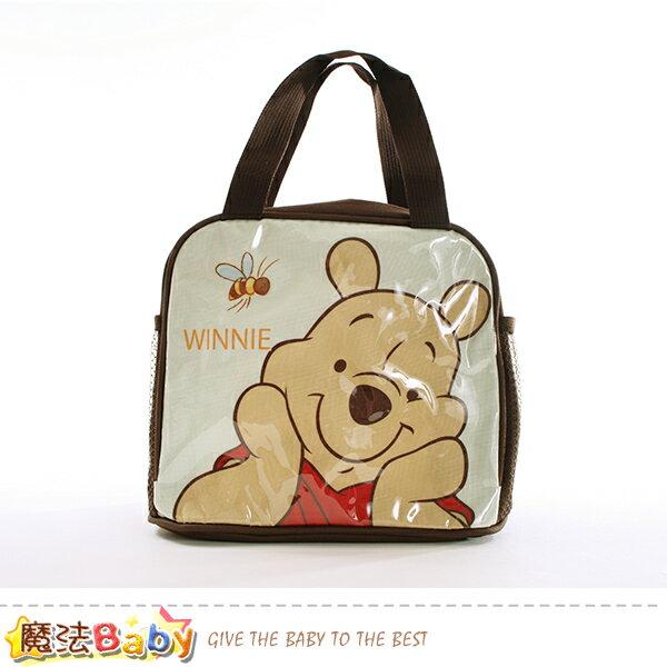 便當袋 迪士尼小熊維尼授權正版提袋 魔法Baby~f0255
