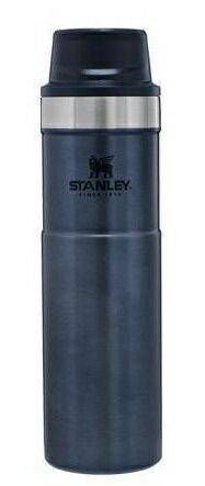 【【蘋果戶外】】STANLEY 10-06441 TA 金屬藍 經典系列 單手保溫咖啡杯 2.0 591ml 保溫瓶水瓶