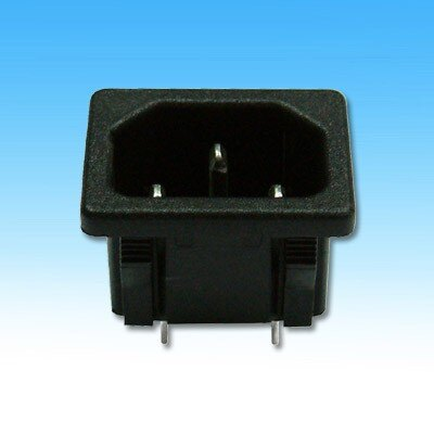 3P接地座 AC電源插座 推入式 2195