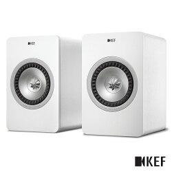【限時下殺$25990】KEF 英國 X300A Wireless 白色 無線Hi-Fi喇叭 主動式同軸書架喇叭