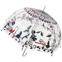 直立雨傘推薦到大賀屋 日貨 愛麗絲 透明 長傘 雨傘 透明傘 剪影 防滲透 迪士尼 Alice 夢遊仙境 正版授權 J00012493就在大賀屋推薦直立雨傘