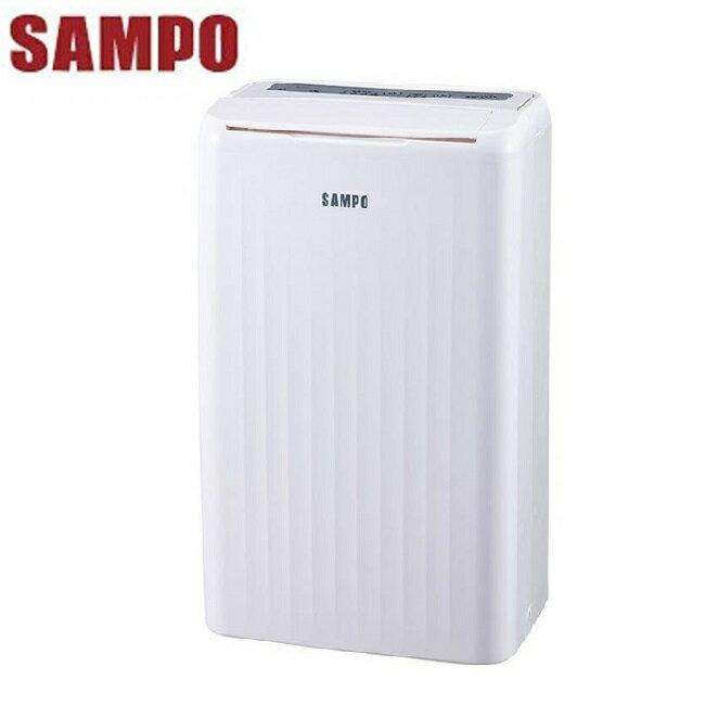 ★ 贈 電蚊拍 KEM-005B (2入) ★『SAMPO』☆聲寶 7公升 空氣清淨除濕機 AD-W614T **免運費**