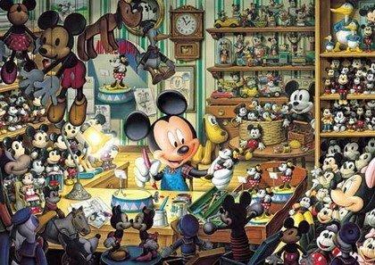 【進口拼圖】迪士尼 DISNEY-小木偶工作室 夜光拼圖 500片 D-500-354