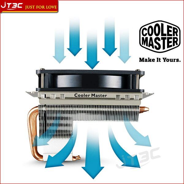 JT3C:【最高折$350】CoolerMasterGeminIIS524V2CPU下吹式散熱器RR-G5V2-20PK-R1