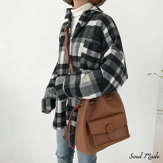 Soul Made -大口袋束口包 2色 5