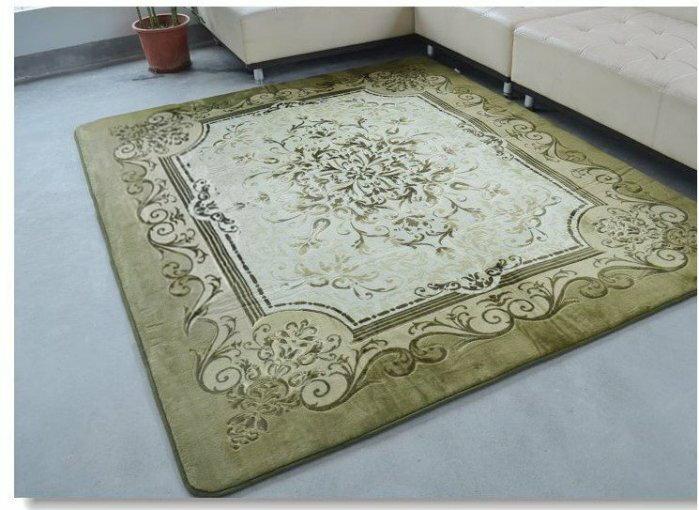 CP10001歐式復古風格200*250 超值法萊絨客廳地毯/地墊