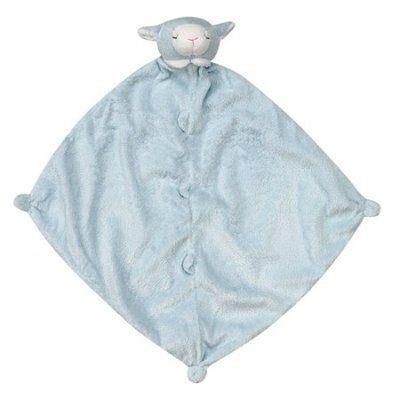 『121婦嬰用品館』美國Angel Dear 動物嬰兒安撫巾 藍羊AD1103(此商品售出不做退換) 0