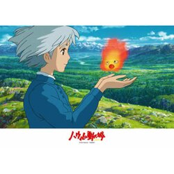【進口拼圖】宮崎駿系列-霍爾的移動城堡 歡迎回來卡西法 108片 108-291
