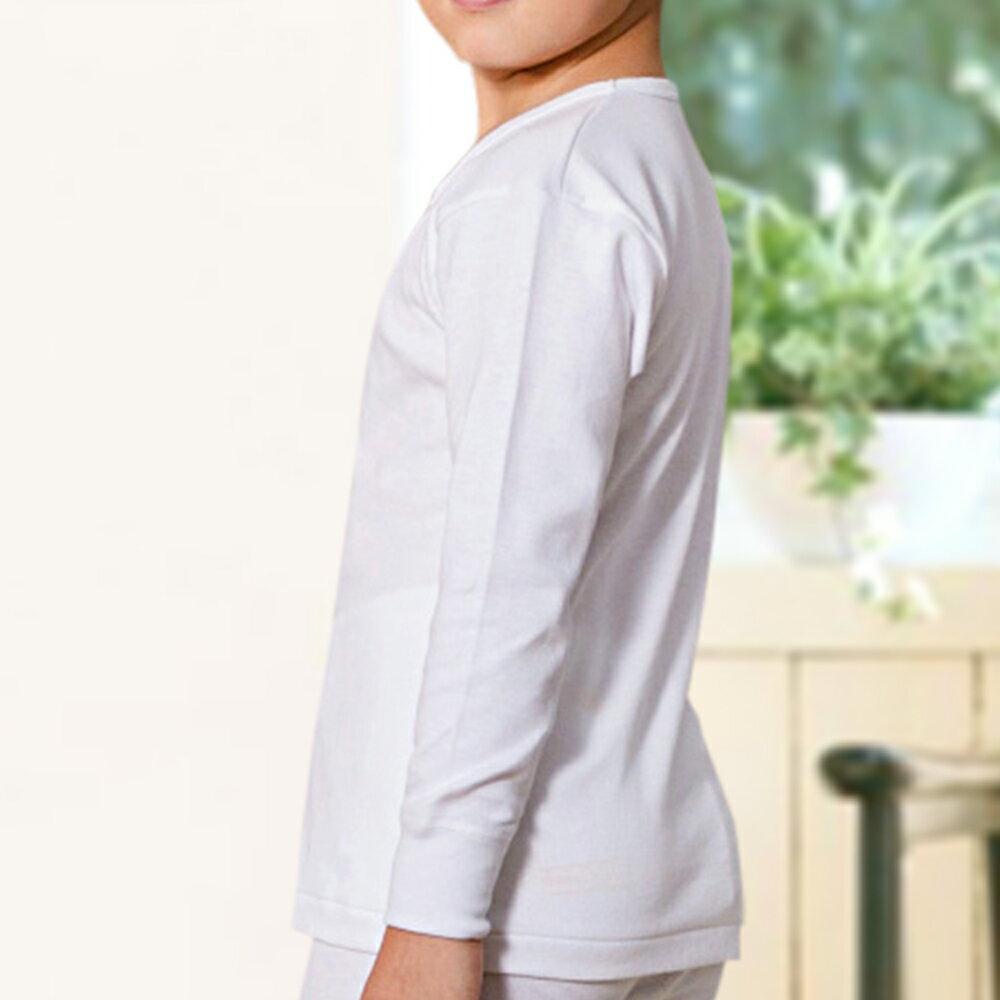 【Gunze郡是】原裝進口-兒童100%純棉男童長袖(100cm~160cm) 3