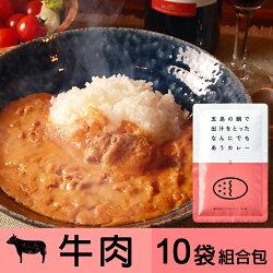 五島鯛高湯熬製的百搭美味咖哩(牛肉) 10入組